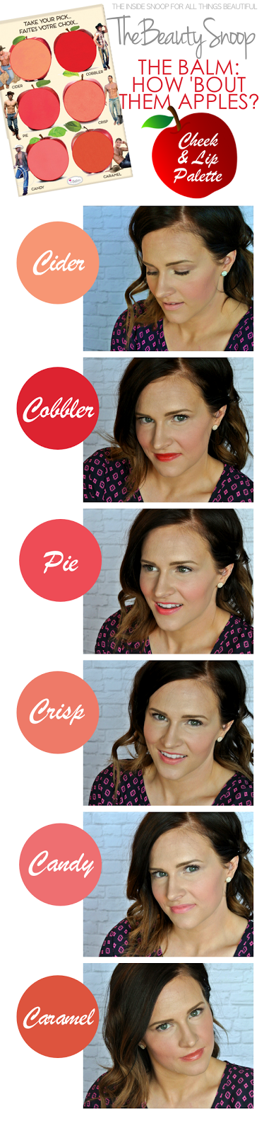 Cream blush and lip color combo makeup, match your cheeks to your lips