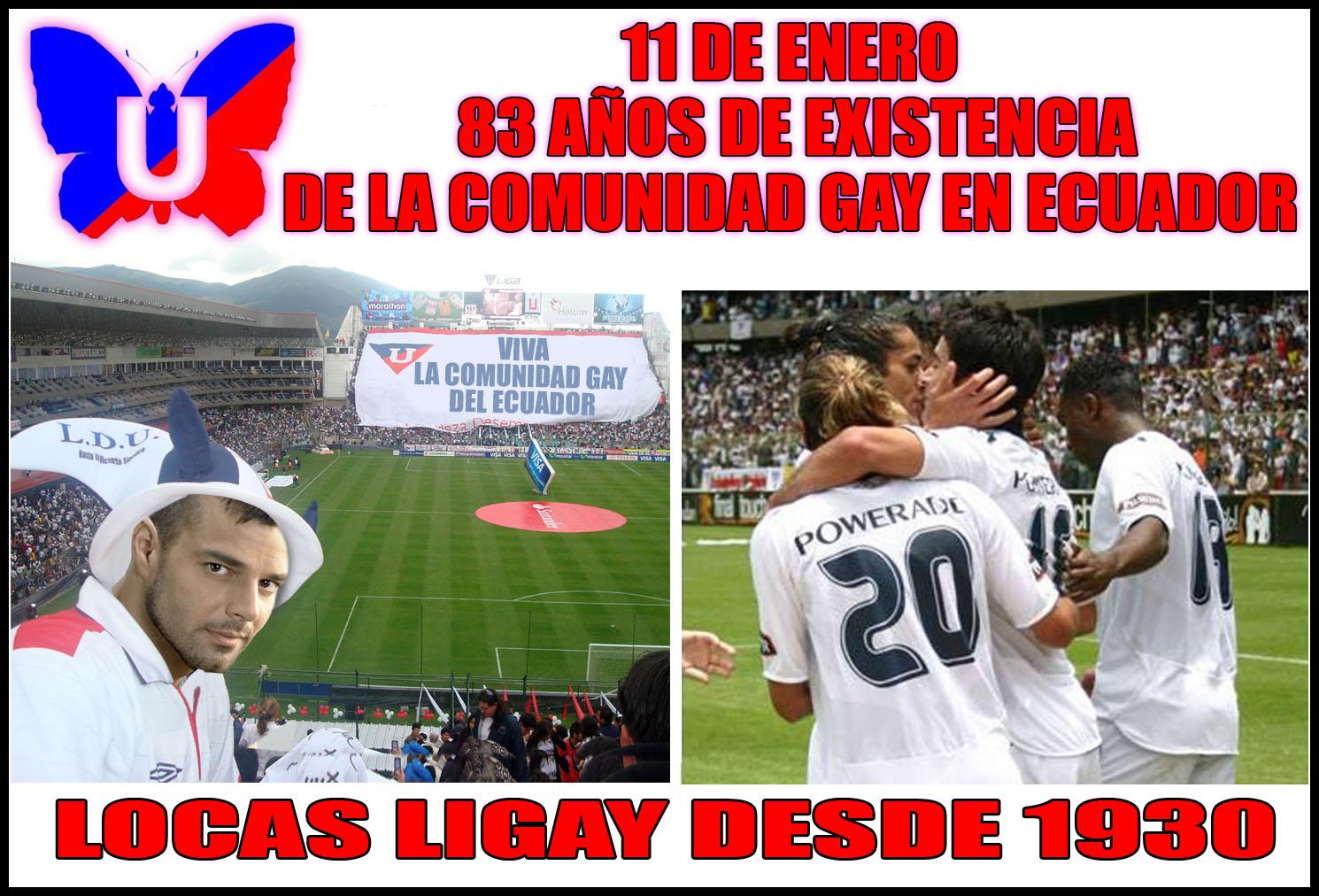 11 DE ENERO 83 AÑOS DE EXISTENCIA DE LA COMUNIDAD GAY EN ECUADOR ...