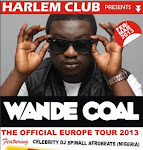 WANDE COAL EUROPE TOUR 2013