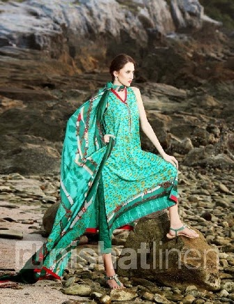 Best Nishat Linen Pret Collection 2014