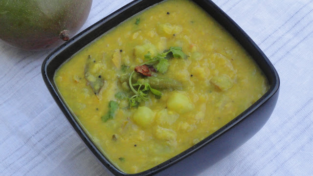 Raw Mango Dal ~ Mangai Paruppu
