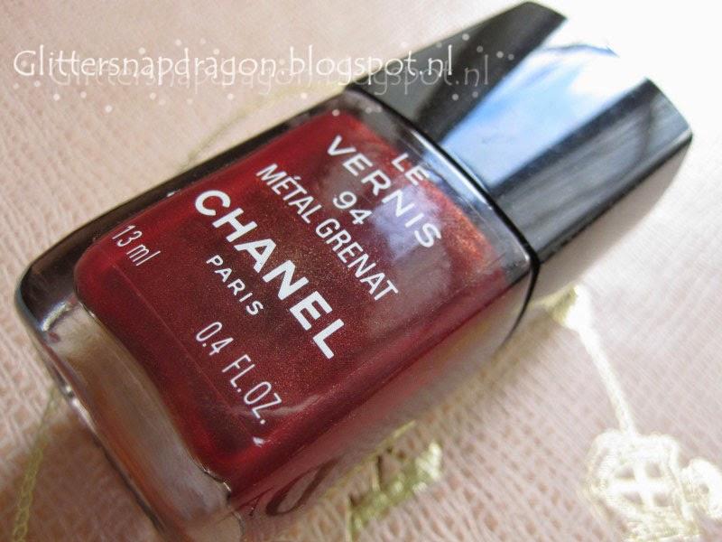 Chanel Métal Grenat