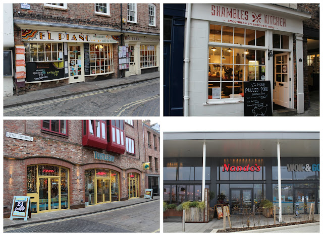 #ShopInYork | El Piano, Shambles Kitchen, Turtle Bay, Nando's