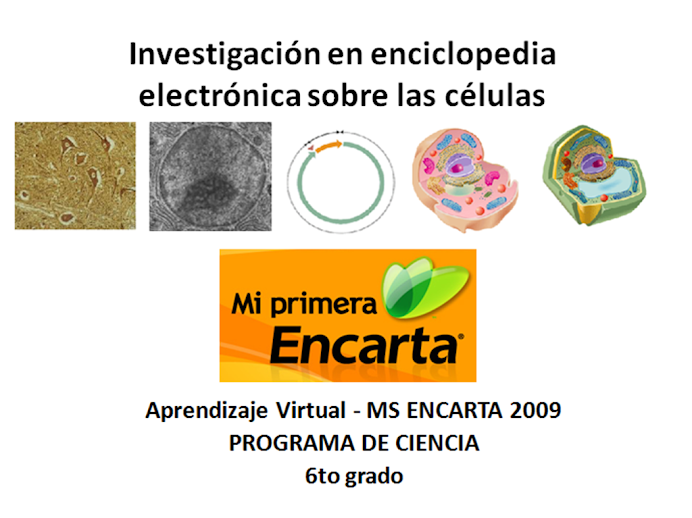 Investigacin Enciclopedia Electrnica MS Encarta