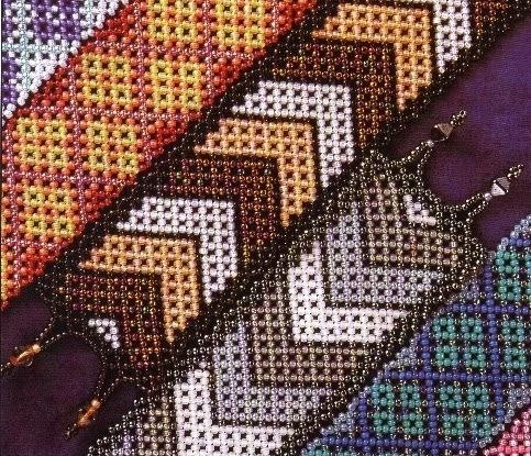 Простые браслеты из бисера