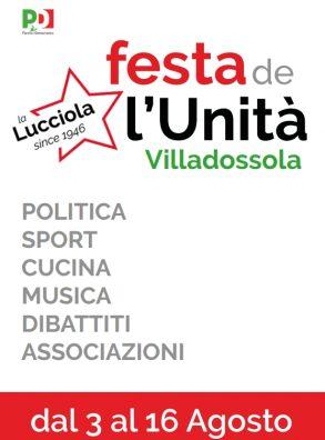 Festa de l'Unità 2018