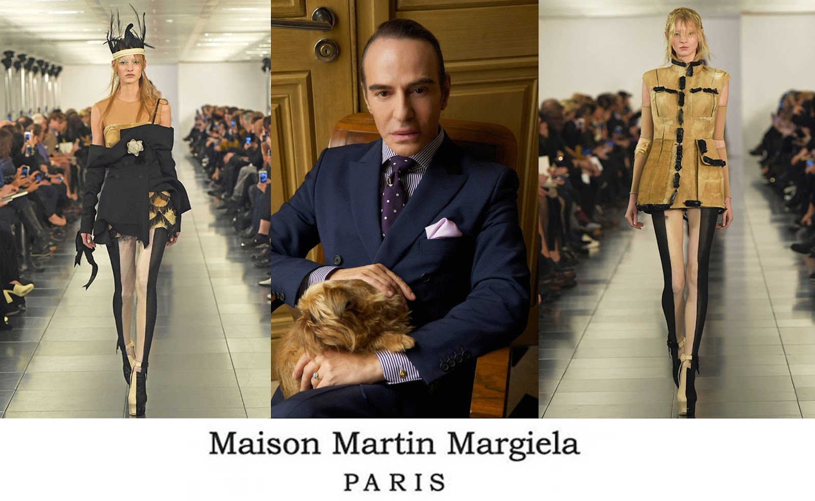Eniwhere Fashion - John Galliano return with Maison Martin Margiela