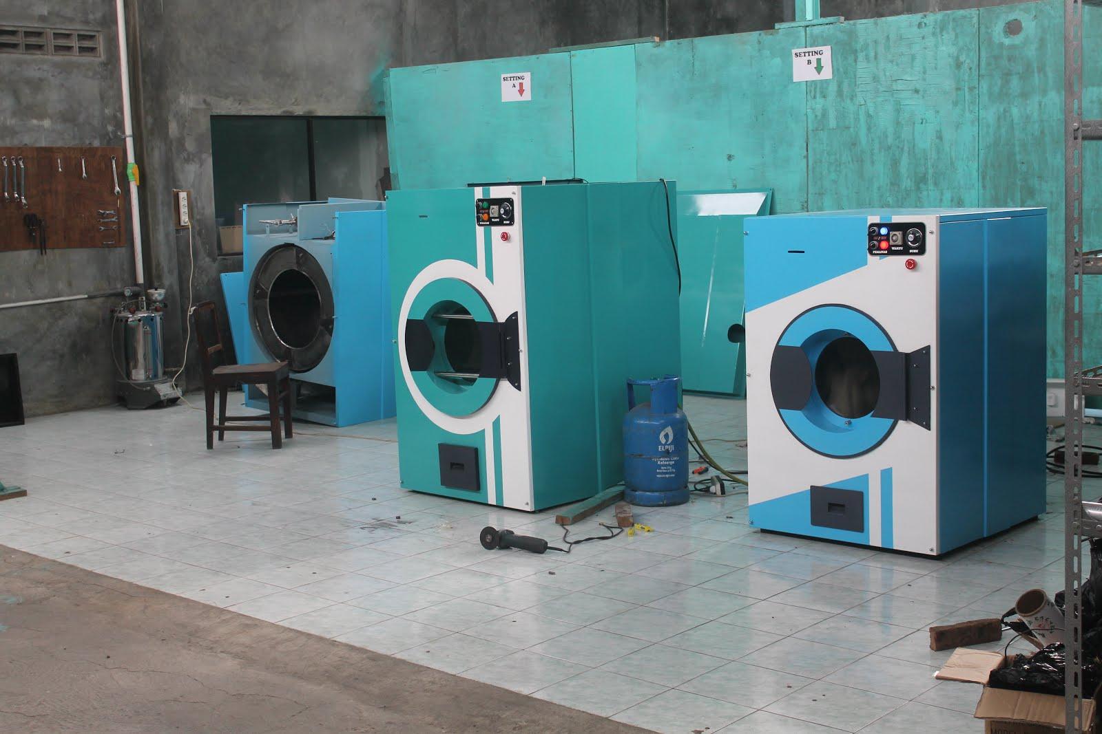 Mesin Pengering Laundry Cantik dan Berkwalitas