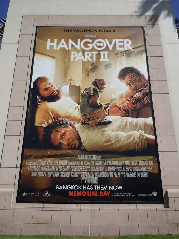 The Hangover Part II movie billboard