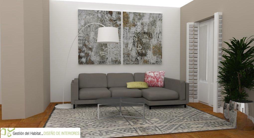 Alfombra para sofa gris cheap inuit with alfombra para - Alfombras para salon ...