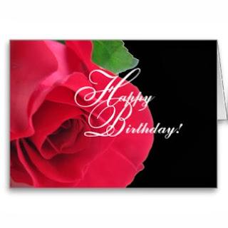 Imagenes de Cumpleaños con Rosas Rojas, parte 3