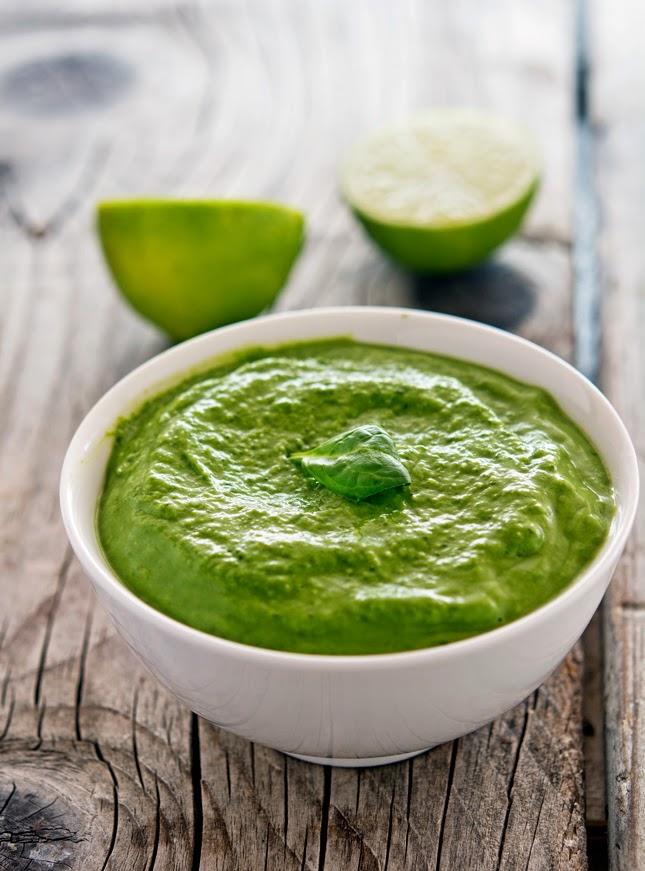 Creamy Avocado-Spinach Pesto
