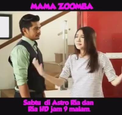Telemovie Mama Zoomba di Astro Ria & Ria HD
