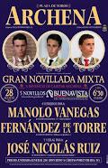 Manolo Vanegas, anunciado en Archena, el 28/08.