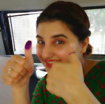 Javeria Saud - Pakistan Celebrities voted for Pakistan