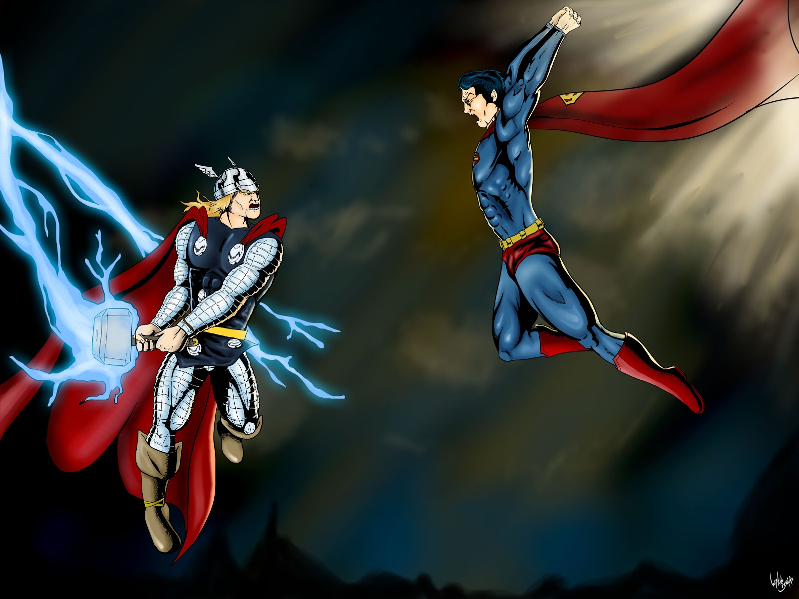 Bytes and banter 7 superman vs thor wednesday 12 december 2012 voltagebd Choice Image