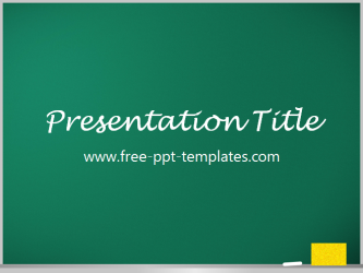 blackboard ppt template free powerpoint templates. Black Bedroom Furniture Sets. Home Design Ideas