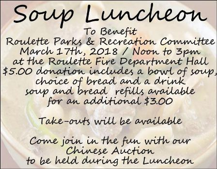 3-17 Soup Luncheon, Roulette