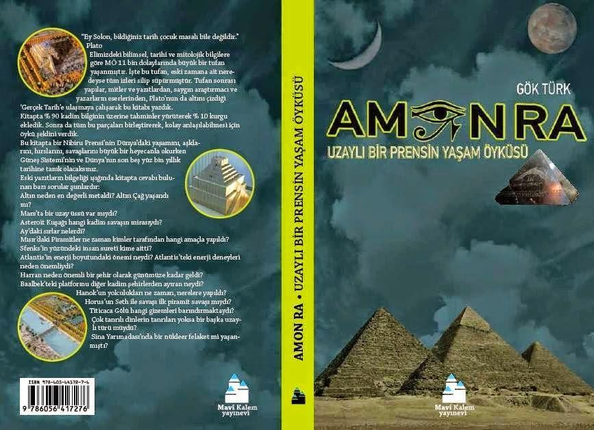 """""""Amon Ra: Uzaylı Bir Prensin Yaşam Öyküsü"""" Raflarda"""