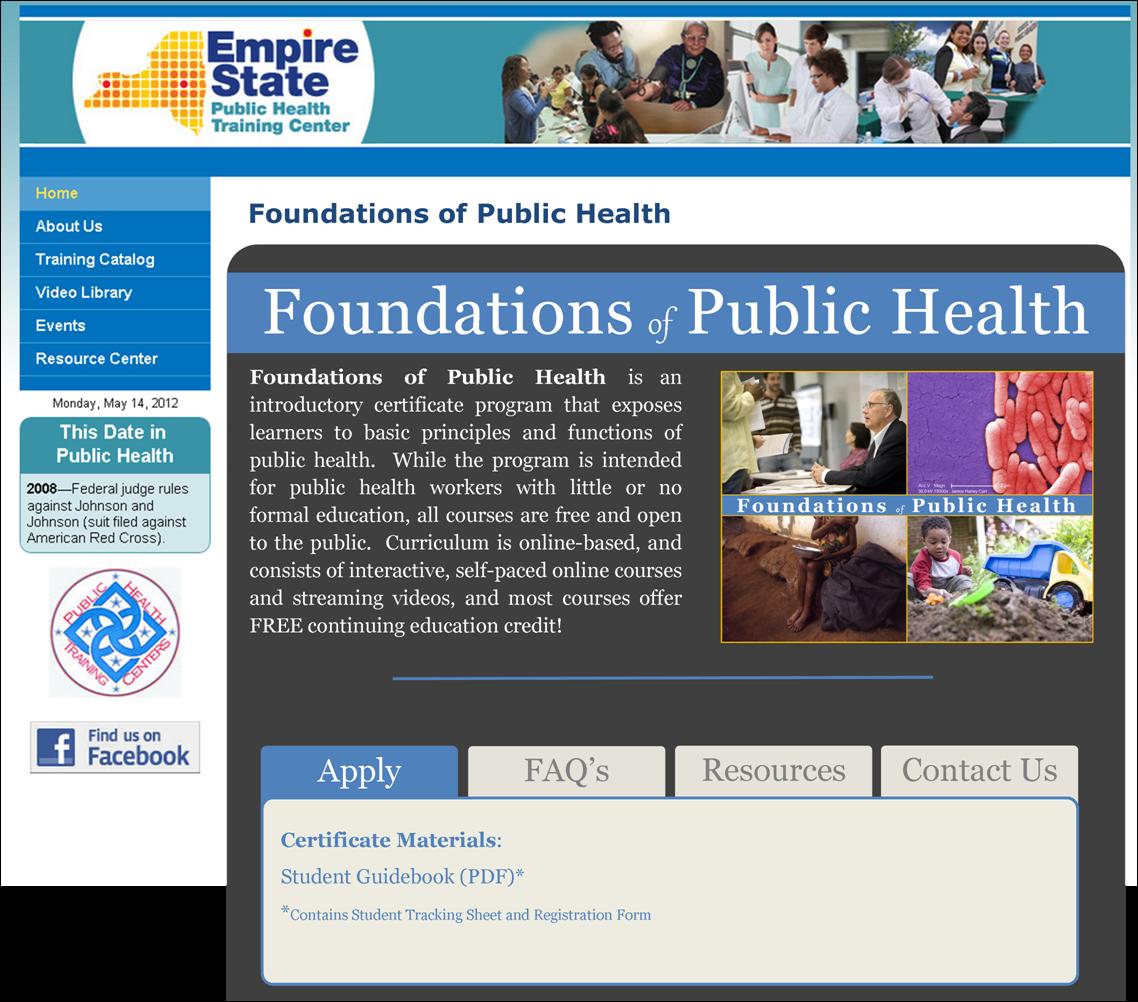Christian Herasimtschuk Mph Empire State Public Health Training