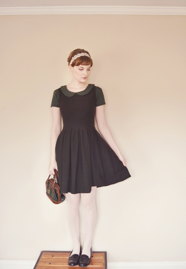 Curator Darling Dress, Vanilla & Lace top