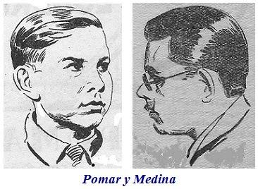 Dibujos de Pomar y Medina