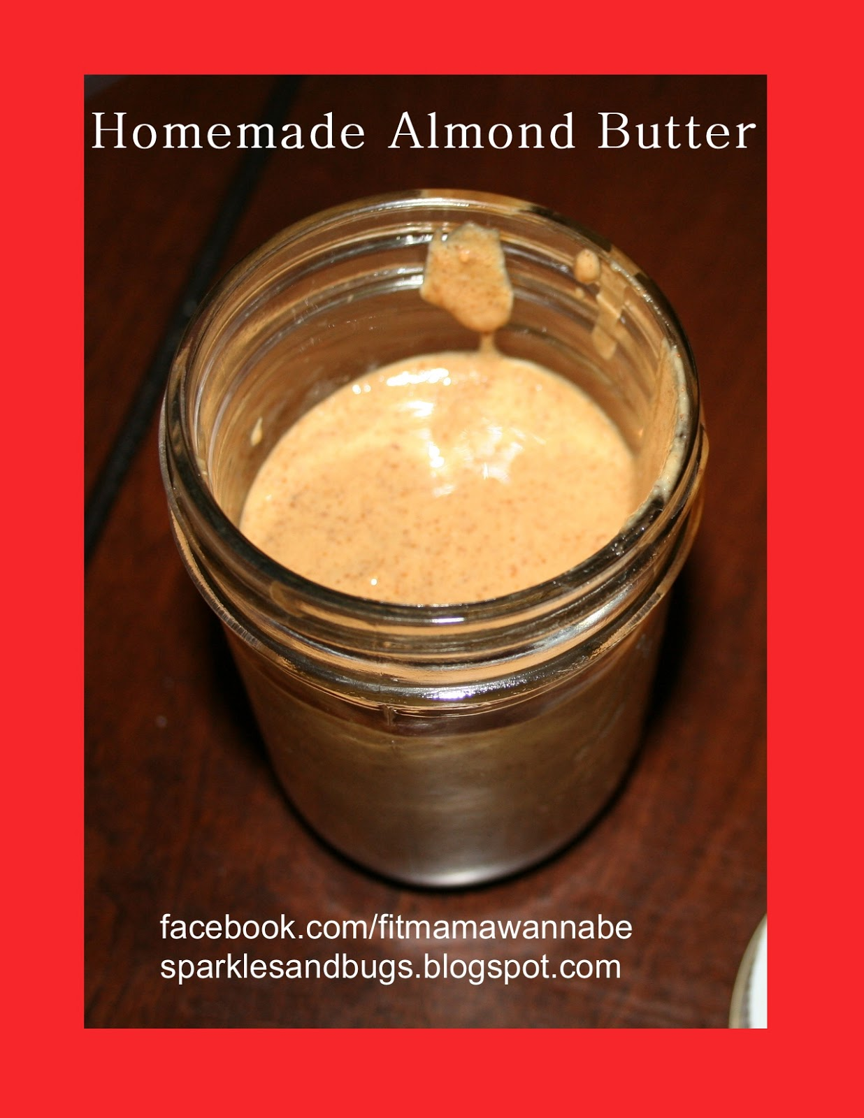 Healthy Happy Fit: Homemade Almond Butter {updated}