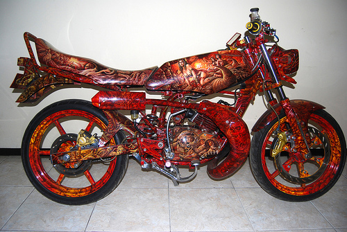 rx king modification to get an idea to modify your beloved yamaha rx  title=