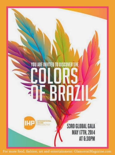 Glamorosi Magazine edit of Colors of Brazil poster