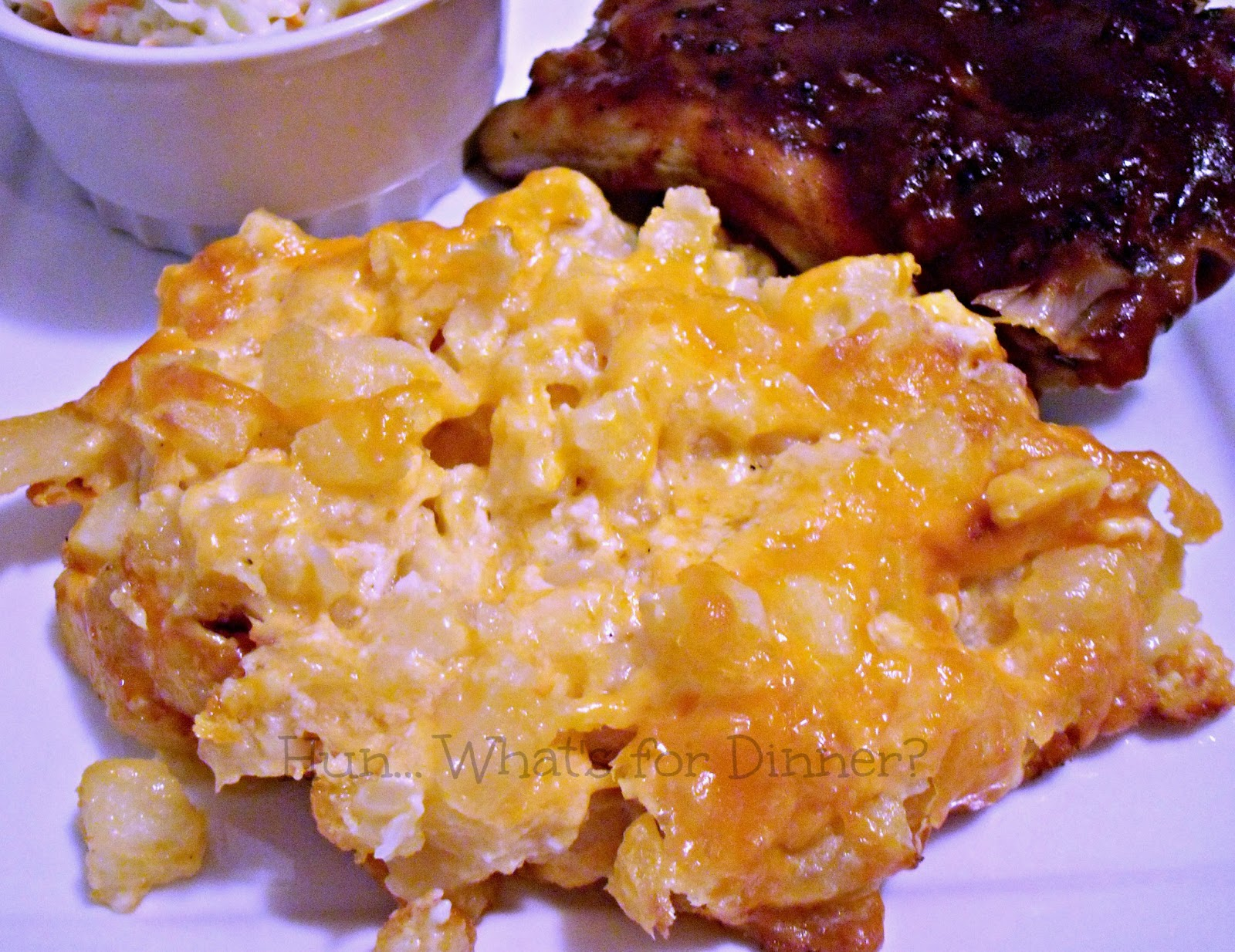 Hun... What's for Dinner?: Cheesy Hash Brown Potatoes