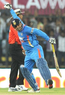 Sehwag made world record 219 runs in ODI