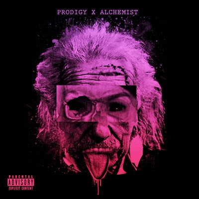 The 10 Best Album Cover Artworks of 2013: 06. Prodigy and Alchemist - Albert Einstein