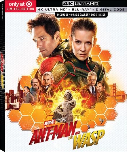 Ant-Man and the Wasp 4K (El Hombre Hormiga y La Avispa 4K) (2018) 2160p 4K UltraHD HDR BluRay REMUX 46GB mkv Dual Audio Dolby TrueHD ATMOS 7.1 ch