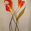 Πίνακες του Αντώνη Μαλαβάζου: Τα Κρίνα