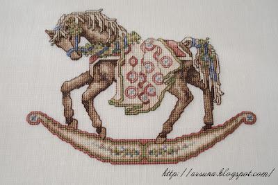 Teresa Wentzler Rocking horse