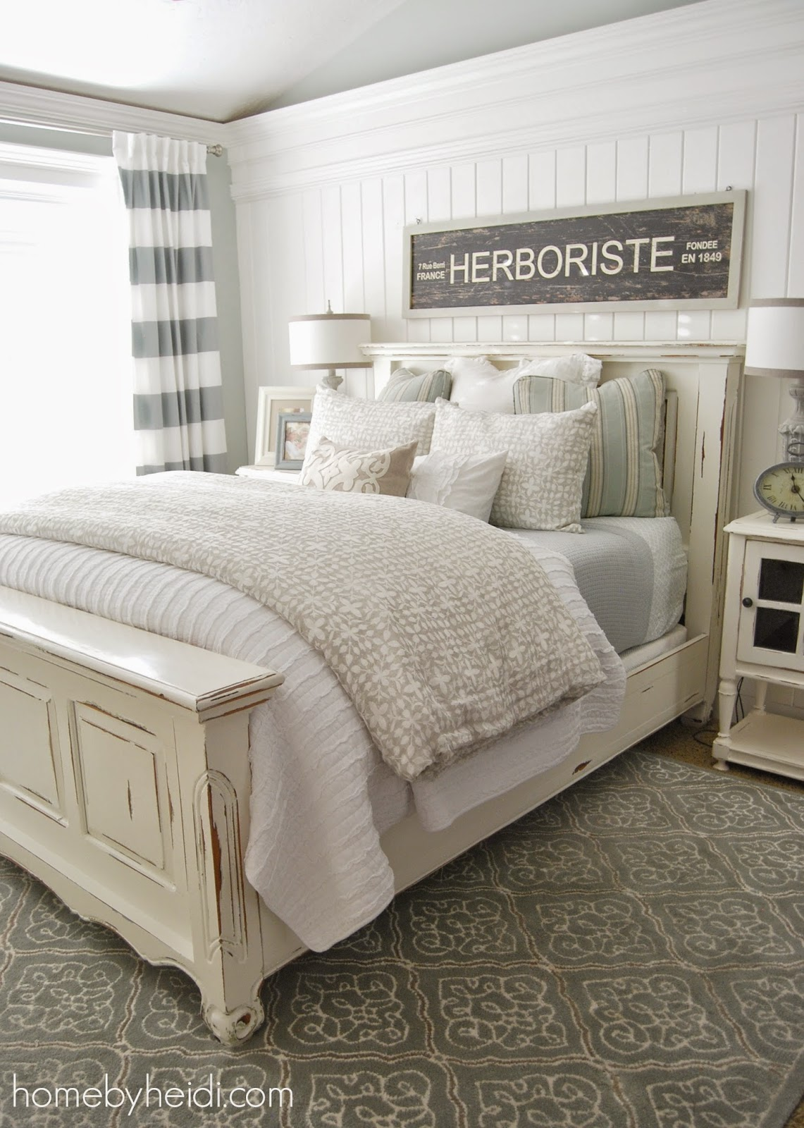 Simple It is definitely lighter and more airy pared to my last designed Master Bedroom