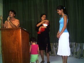 ... primeiros cultos na igreja que ajudamos plantar em Toritama - PE
