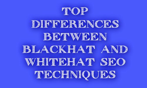 Top Differences Between White-Hat and Black-Hat SEO | Best Explanation | ProBlogger Tips N Tricks
