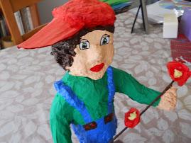 יצירה-בובות מעיסת נייר
