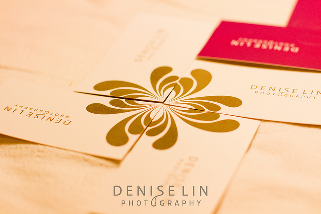 Denise Lin Photography Business Card