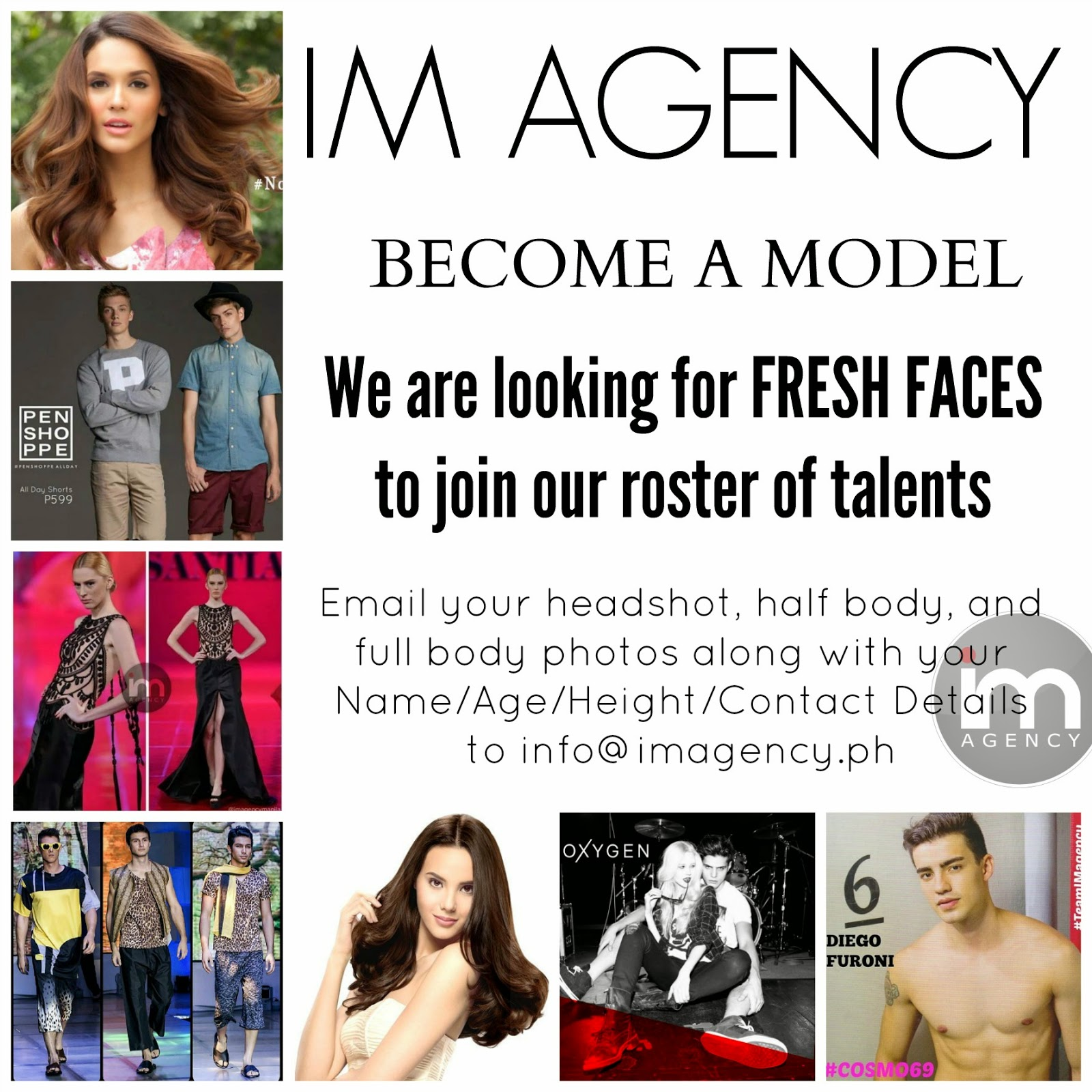 IM Agency Become A Model