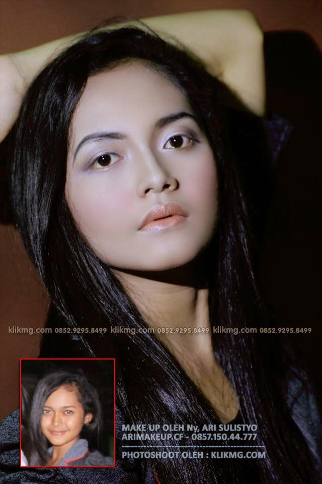 Make Up Minimalis & Sederhana mengubah Karakter Wajah Anak-anak menjadi Lebih Dewasa, Make Up oleh : Ny. Ari Sulistyo - Rias Pengantin Purwokerto