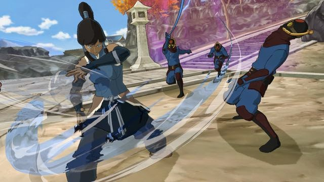 game avatar the legend of korra