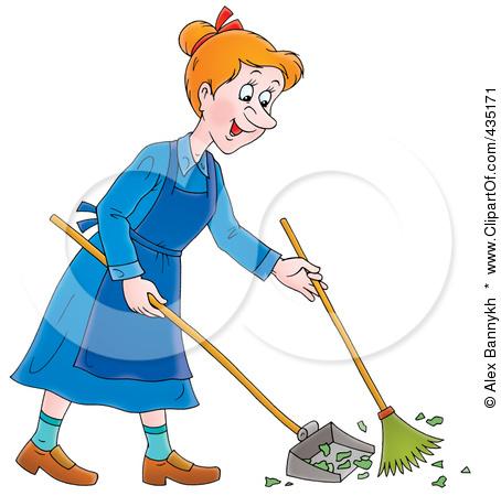 Sweeping Clip Art