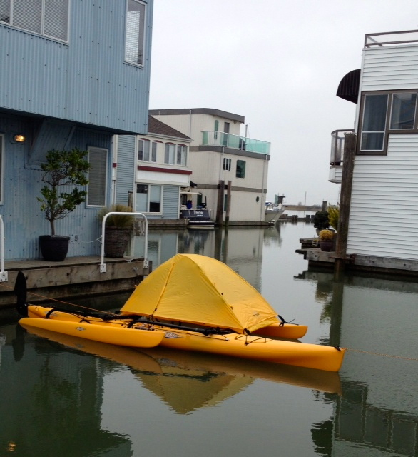 Alex & Western Canoeing and Kayaking: Hobie Adventure Island Tent Mod