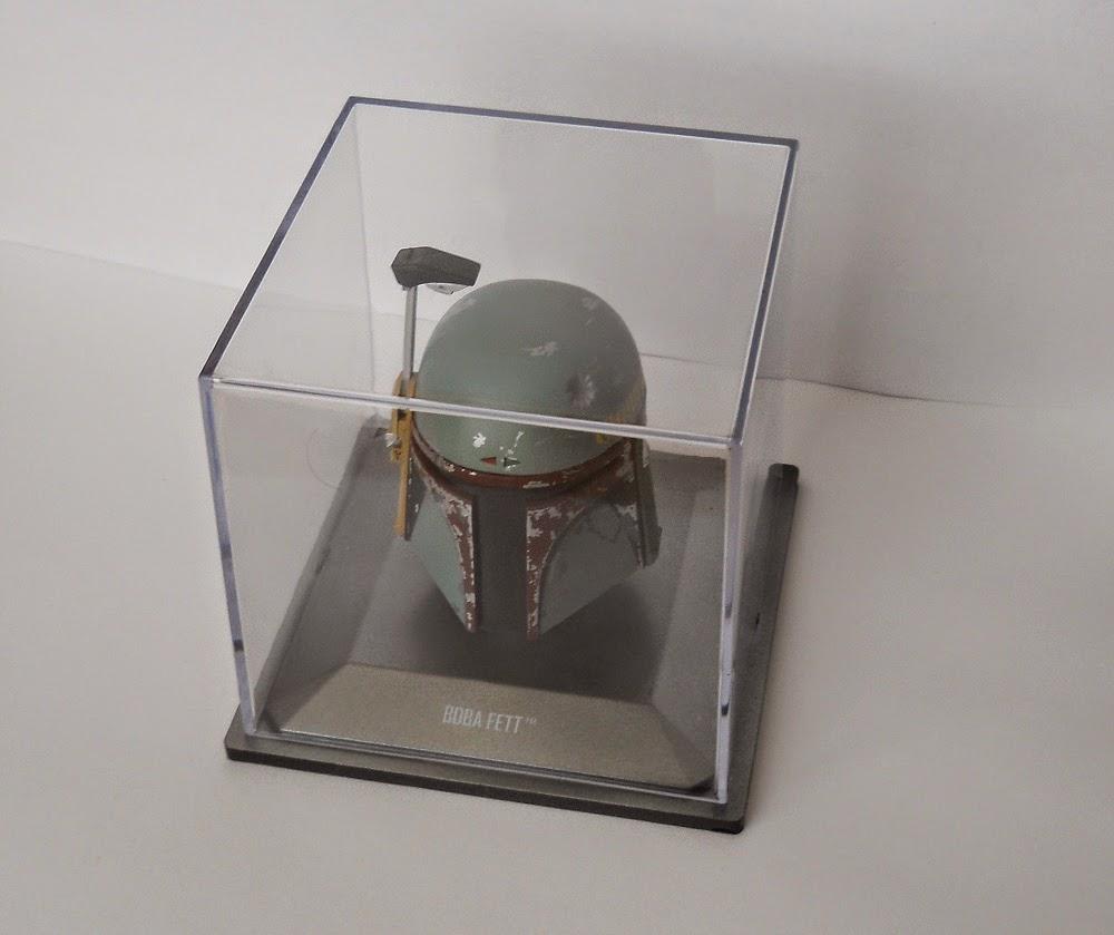coleccionable de quioscos cascos de la guerra de las galaxias