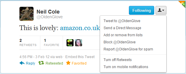 how to put a link in a tweet