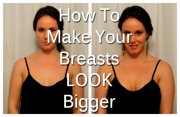 How to make your breasts look bigger in a bikini