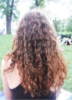 Moje aktualne włosy