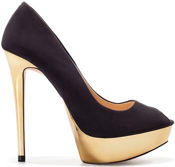 zapatos peep toes Zara